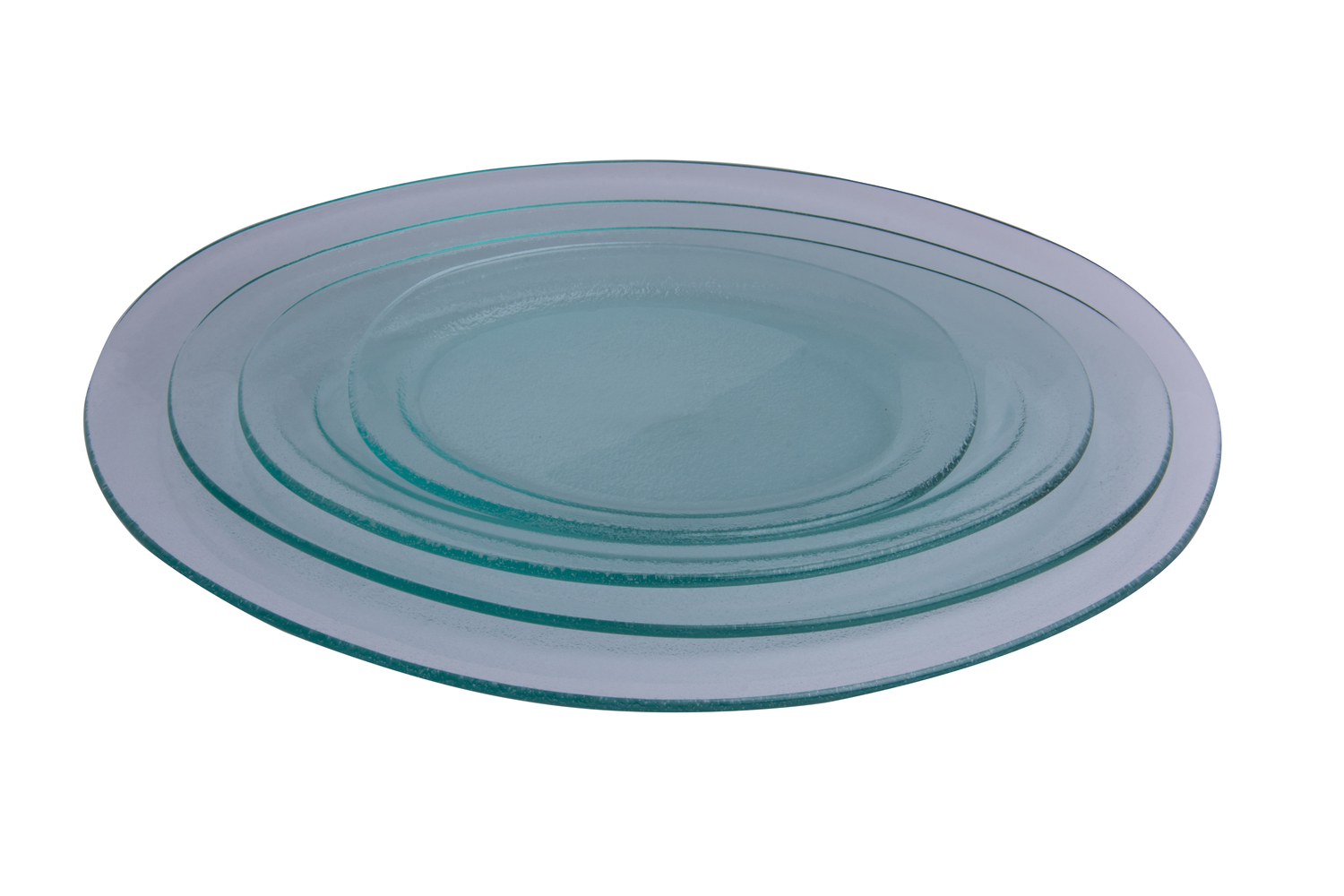Oval Plate Tempered 28.5 x 17 cm